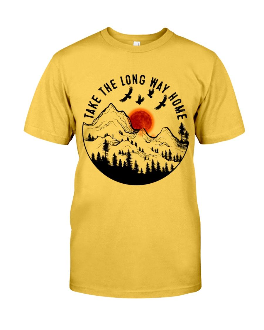 Take The Long Way Home Classic T-Shirt