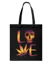 Love Skull Tote Bag thumbnail