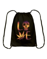 Love Skull Drawstring Bag thumbnail