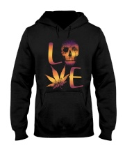 Love Skull Hooded Sweatshirt front