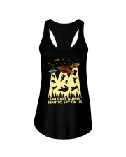 Cats Are Aliens Ladies Flowy Tank thumbnail