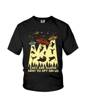Cats Are Aliens Youth T-Shirt thumbnail