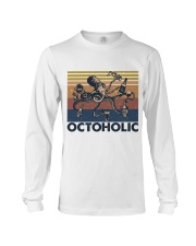 Octoholic Funny Shirt Long Sleeve Tee thumbnail