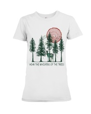 Hear The Whispers Premium Fit Ladies Tee thumbnail