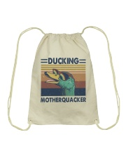 Ducking Motherquacker Drawstring Bag thumbnail