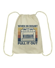 When In Doubt Pull It Out Drawstring Bag thumbnail