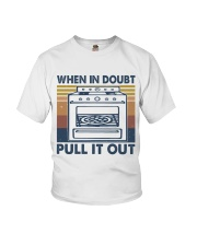 When In Doubt Pull It Out Youth T-Shirt thumbnail