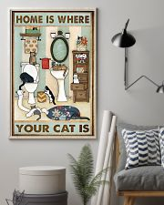 Home Is Where Your Cat Is 11x17 Poster lifestyle-poster-1