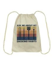 Ask Me About Drawstring Bag thumbnail
