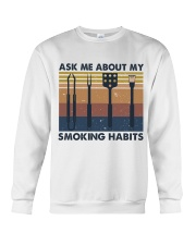 Ask Me About Crewneck Sweatshirt thumbnail