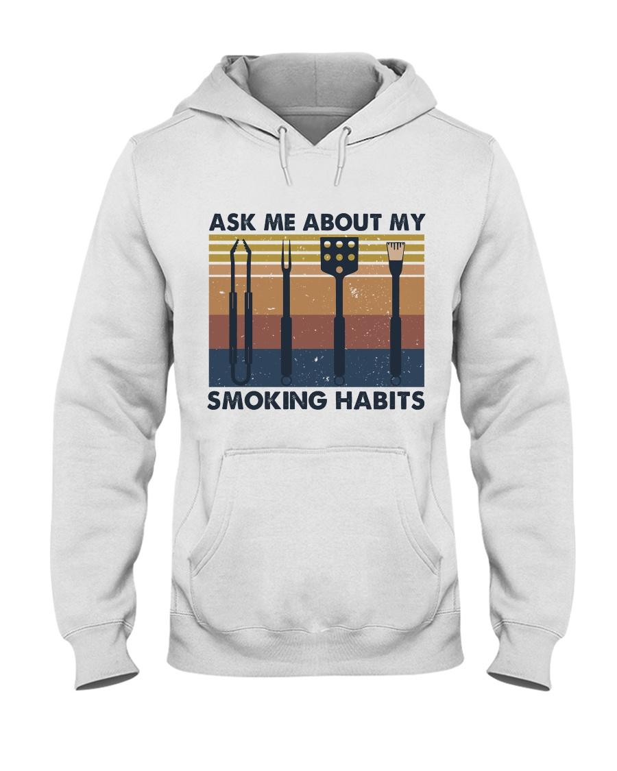 Ask Me About Hooded Sweatshirt