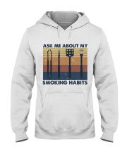 Ask Me About Hooded Sweatshirt front