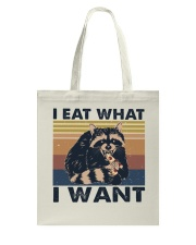 I Eat What I Want Tote Bag thumbnail
