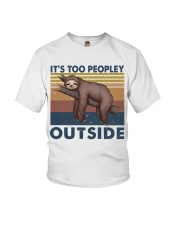 It Is Too Peopley Youth T-Shirt thumbnail