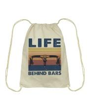 Life Behind Bars Drawstring Bag thumbnail