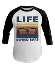 Life Behind Bars Baseball Tee thumbnail