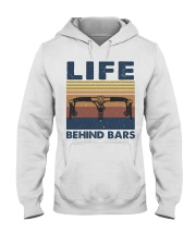 Life Behind Bars Hooded Sweatshirt front