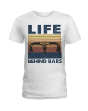 Life Behind Bars Ladies T-Shirt thumbnail