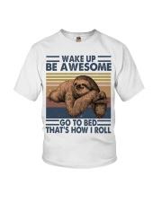 Wake Up Be Awesome Youth T-Shirt thumbnail