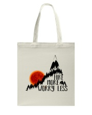 -Hike More Worry Less Tote Bag thumbnail
