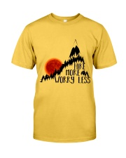 -Hike More Worry Less Classic T-Shirt front