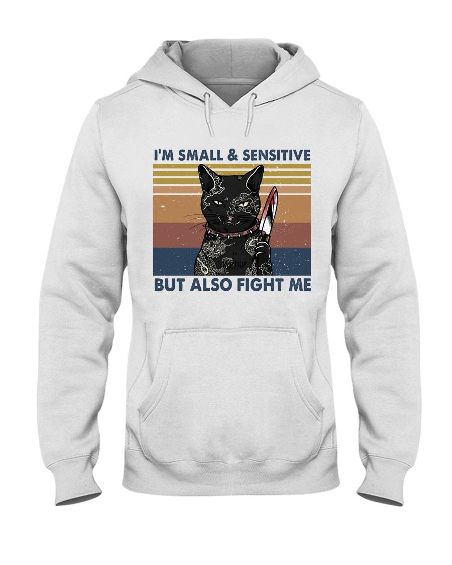 Im Small And Sensitive Hooded Sweatshirt
