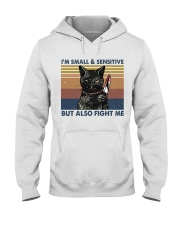 Im Small And Sensitive Hooded Sweatshirt front