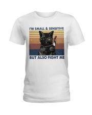 Im Small And Sensitive Ladies T-Shirt thumbnail