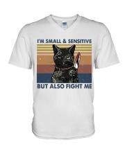Im Small And Sensitive V-Neck T-Shirt thumbnail