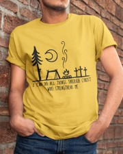 I Can DO All Things Classic T-Shirt apparel-classic-tshirt-lifestyle-26