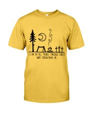I Can DO All Things Classic T-Shirt front