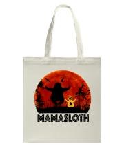Mama Sloth Tote Bag thumbnail