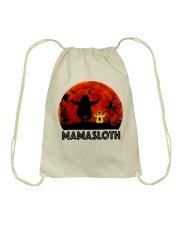 Mama Sloth Drawstring Bag thumbnail