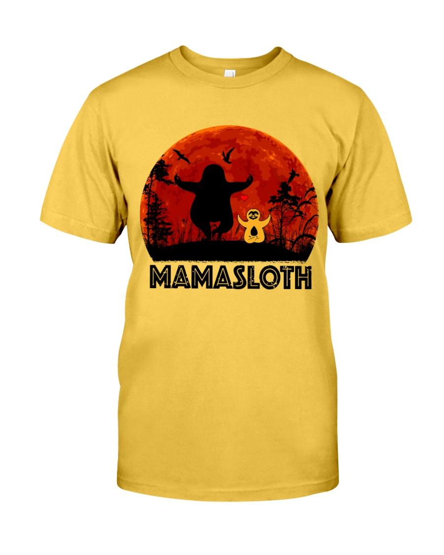Mama Sloth Classic T-Shirt