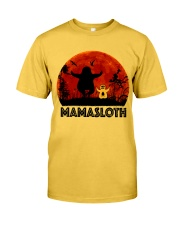Mama Sloth Classic T-Shirt front