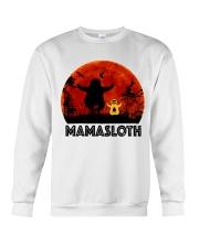 Mama Sloth Crewneck Sweatshirt thumbnail