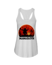 Mama Sloth Ladies Flowy Tank thumbnail