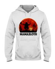 Mama Sloth Hooded Sweatshirt thumbnail