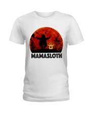 Mama Sloth Ladies T-Shirt thumbnail