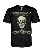 I Am The Storm V-Neck T-Shirt thumbnail