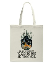 Woodland Animal Tracks Tote Bag thumbnail