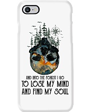 Woodland Animal Tracks Phone Case thumbnail
