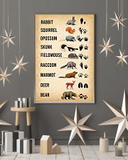 Woodland Animal Tracks 11x17 Poster lifestyle-holiday-poster-1