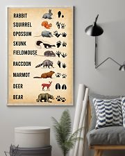 Woodland Animal Tracks 11x17 Poster lifestyle-poster-1