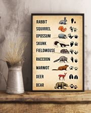 Woodland Animal Tracks 11x17 Poster lifestyle-poster-3