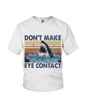 Dont Make Me Eye Contact Youth T-Shirt tile