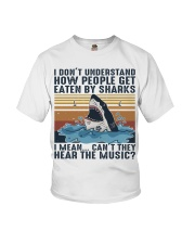 How People Get Eaten By Sharks Youth T-Shirt thumbnail