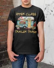 Upper Class Trailer Trash Classic T-Shirt apparel-classic-tshirt-lifestyle-31