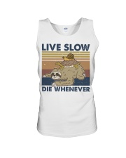 Live Slow Die Whenever Unisex Tank thumbnail
