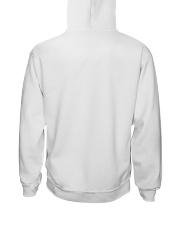 Dont Hurry Be Happy Hooded Sweatshirt back